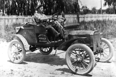 Hawke's Bay Herald Delivery Car