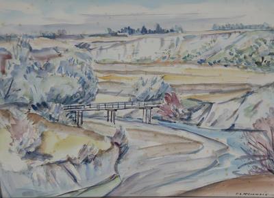 Untitled - Cheviot landscape