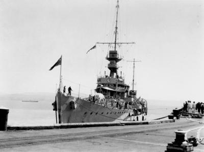 HMS Diomede, Napier