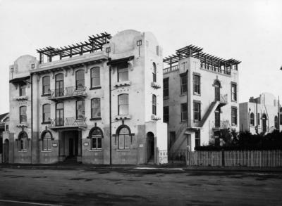 Dr Moore's Private Hospital, Marine Parade, Napier