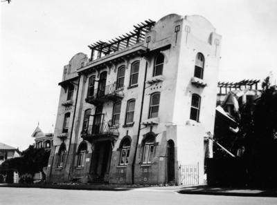 Dr Moore's Hospital, Napier, Marine Parade, Napier