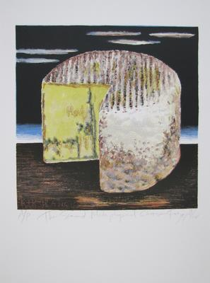The Second Metaphysical Cheese; Frizzell, Richard John; Muka Youth Print; 2011/42/27