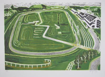 Racetrack; Frizzell, Richard John; Muka Youth Print; 2011/42/40