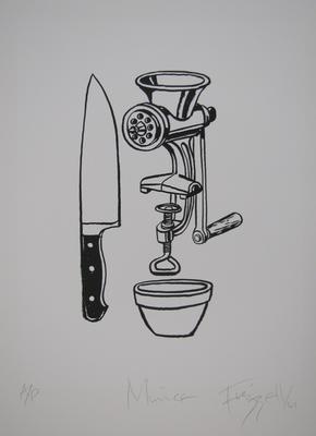 Mince; Frizzell, Richard John; Artrite Screen Printing Ltd; 2011/42/73