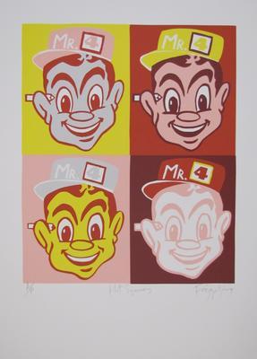 Hot Squares; Frizzell, Richard John; Artrite Screen Printing Ltd; 2011/42/75