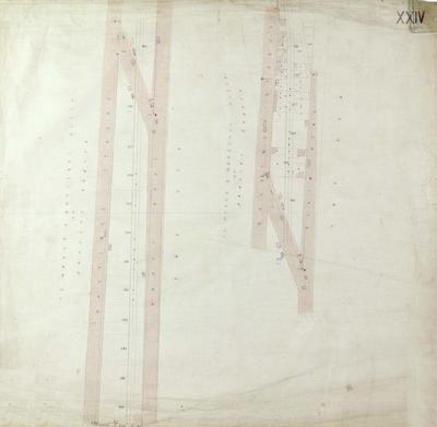 Map, Napier land lots; Bowman, Frederick William