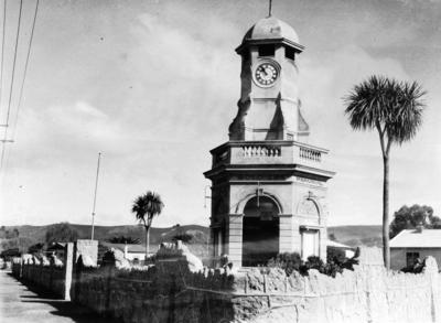Taradale Town Clock