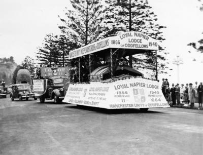 New Zealand Centennial Parade, Napier