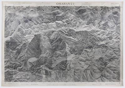 Aerial mosaic map, Omahanui