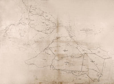 Map, Maraekakaho Estate, Hawke's Bay