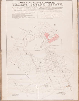 Plan, Villers Estate , Petane