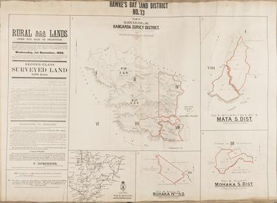 Plan, Hawke's Bay Land District No 33
