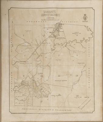 Cadastral map, Tahoraite district; Baker, Horace; Duncan, George; McKerrow, James; Department of Lands & Survey
