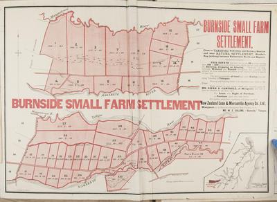 Plan, Burnside Estate