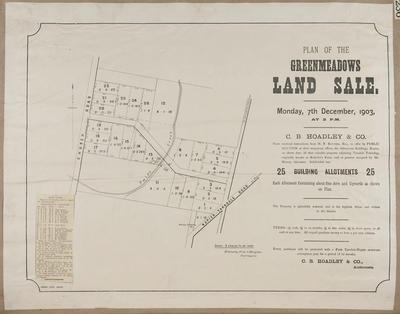 Plan, Greenmeadows land for sale