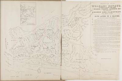 Plan, Whakaki Estate land for sale
