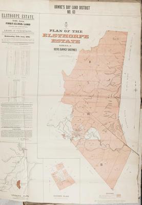 Plan, Hawke's Bay Land District No 63