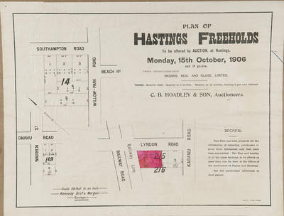 Plan, Hastings freehold properties for sale