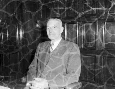 Mr R G Stevenson, new President of the Napier Rotary Club