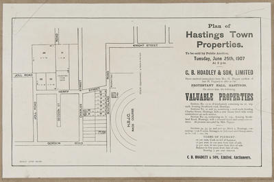 Plan, Hastings town properties for sale