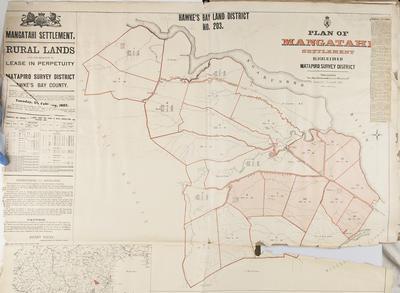 Plan, Hawke's Bay District Number 203