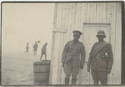 Unidentified New Zealand soldiers, World War I, Zeitoun Camp, Cairo