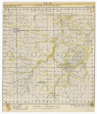 Map, Porangahau Surrounds