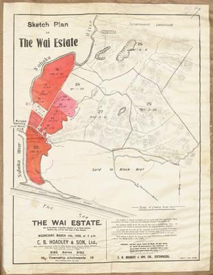 Plan, Wai Estate land for sale