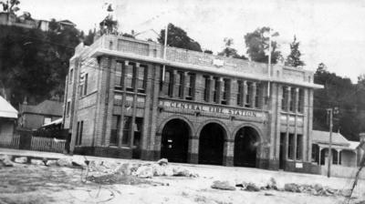 Central Fire Station, Tennyson Street, Napier