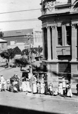 Corner of Browning Street and Herschell Street, Napier