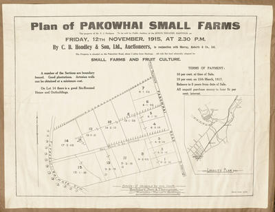 Plan, Pakowhai small farms for sale