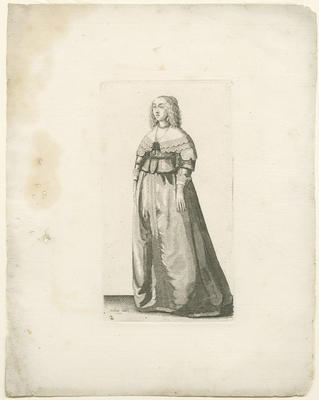 Lady with Jewelled Rope around her Waist
