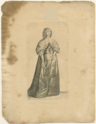 Lady with a Large Jewel
