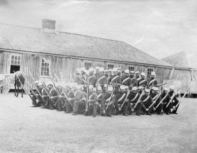 Militia Training, Napier Barracks