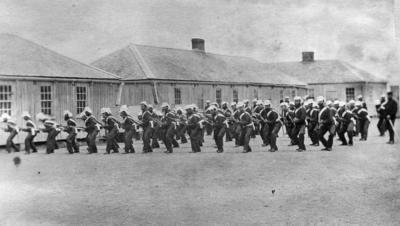 Military Training, Napier Barracks