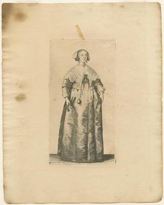 Lady with Pomander