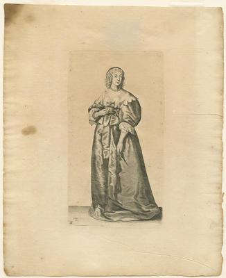 Lady with Pearl Bracelets