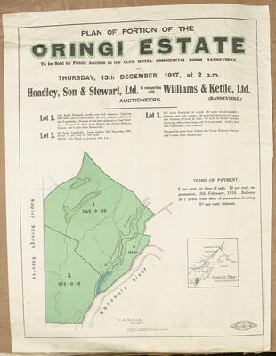 Plan, Oringi Estate land for sale