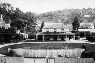 Home of Dr William Isaac Spencer and his wife Anna, Tennyson Street, Napier; Kennedy, Charles Dugald