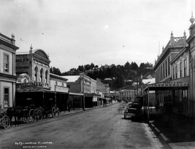 Hastings Street, Napier; Burton Brothers