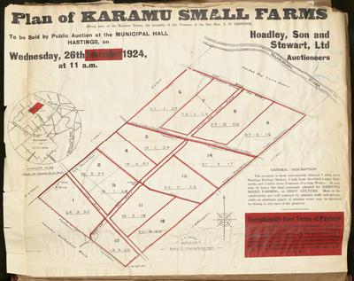 Plan, Karamu small farms for sale