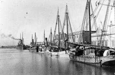 Vessels, West Quay