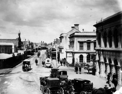 Hastings Street, Napier; Neal, William Henry; 56/28