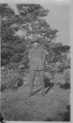 Photograph, an unidentified New Zealand soldier