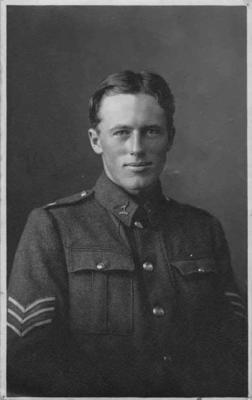 Portrait Sergeant M S Edwards