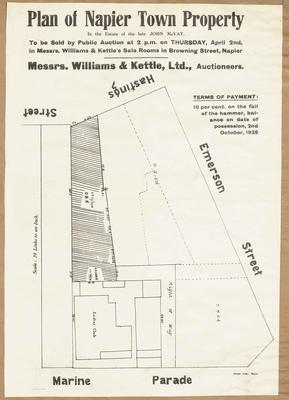 Plan, Napier town properties for sale