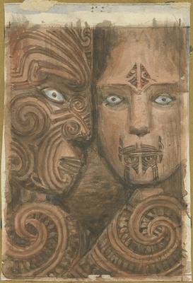 Carving Koruru