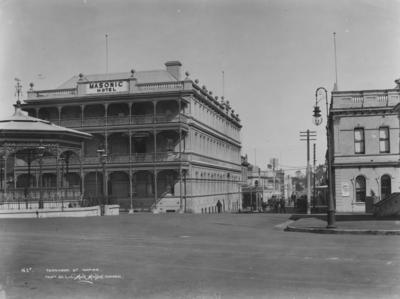 Tennyson Street, Napier; Muir & Moodie