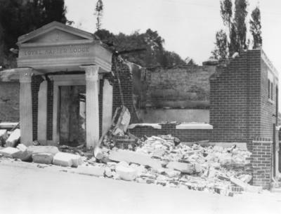 Oddfellows Hall, Loyal Napier Lodge Building, Milton Road, Napier
