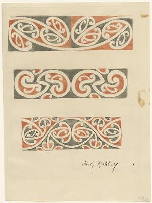 Untitled - Māori rafter patterns